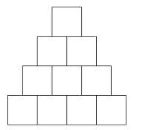 Geometryczne liczby – liczby trójkątne